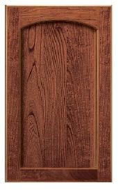 Adams Arch Oak Door