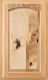 Arlington Arch Rustic Hickory Door