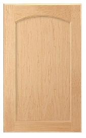 Adams Arch Hickory Door