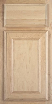 Brunswick II Maple Door