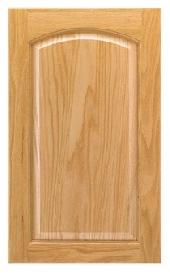 Towne Arch Oak Door