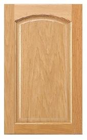 Duncan Arch Oak Door