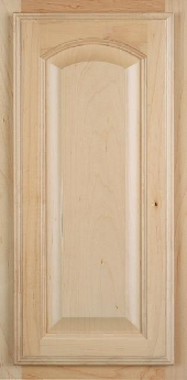 Florence Arch Oak Door